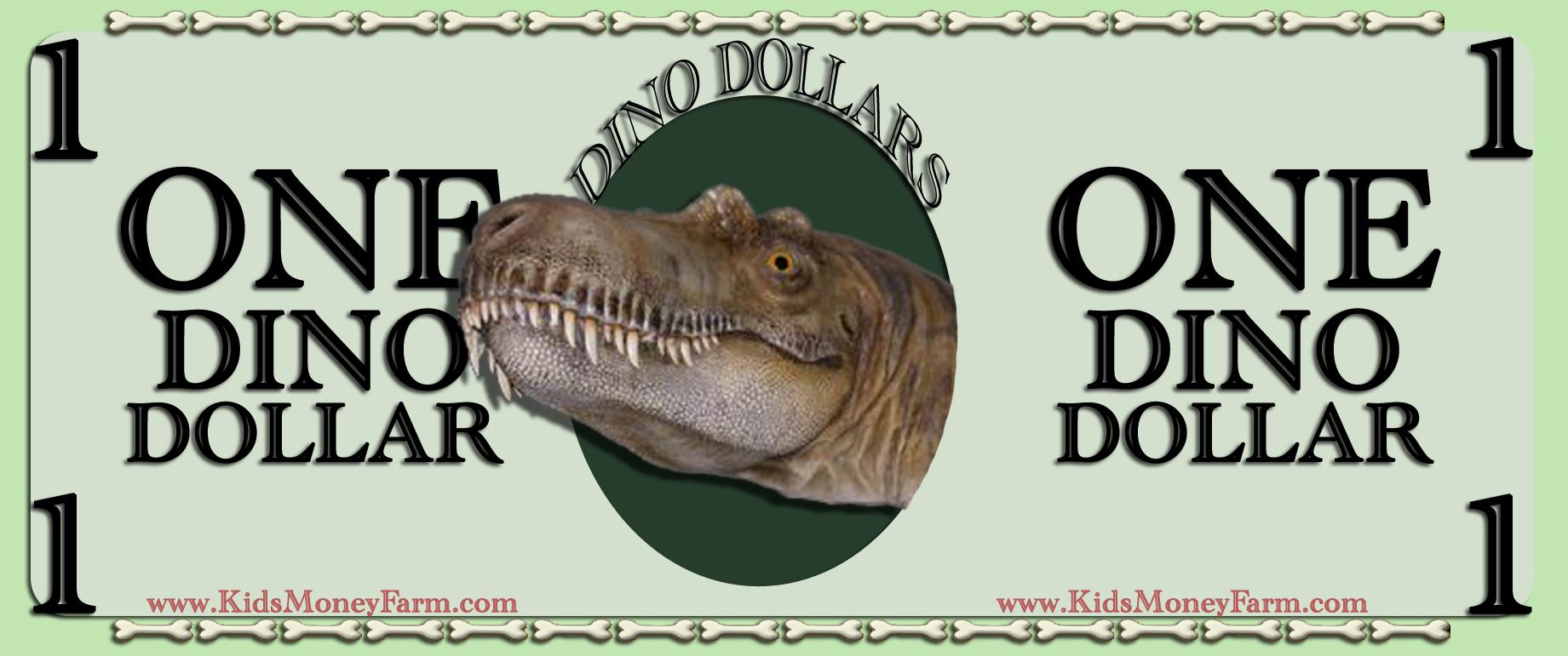 One Dino Dollar
