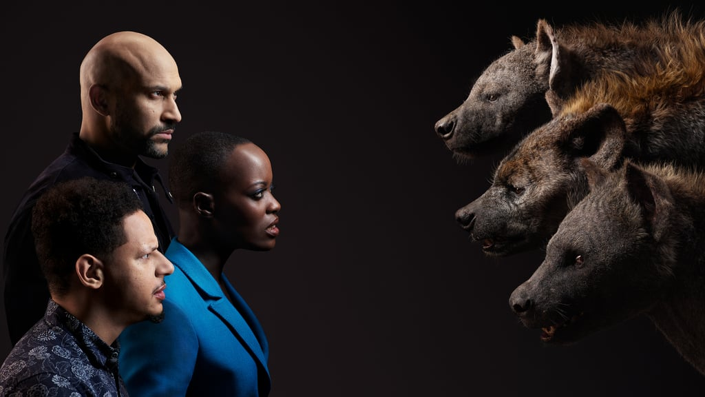 Eric-André-Florence-Kasumba-Keegan-Michael-Key-Hyenas-Azizi-Shenzi-Kamari