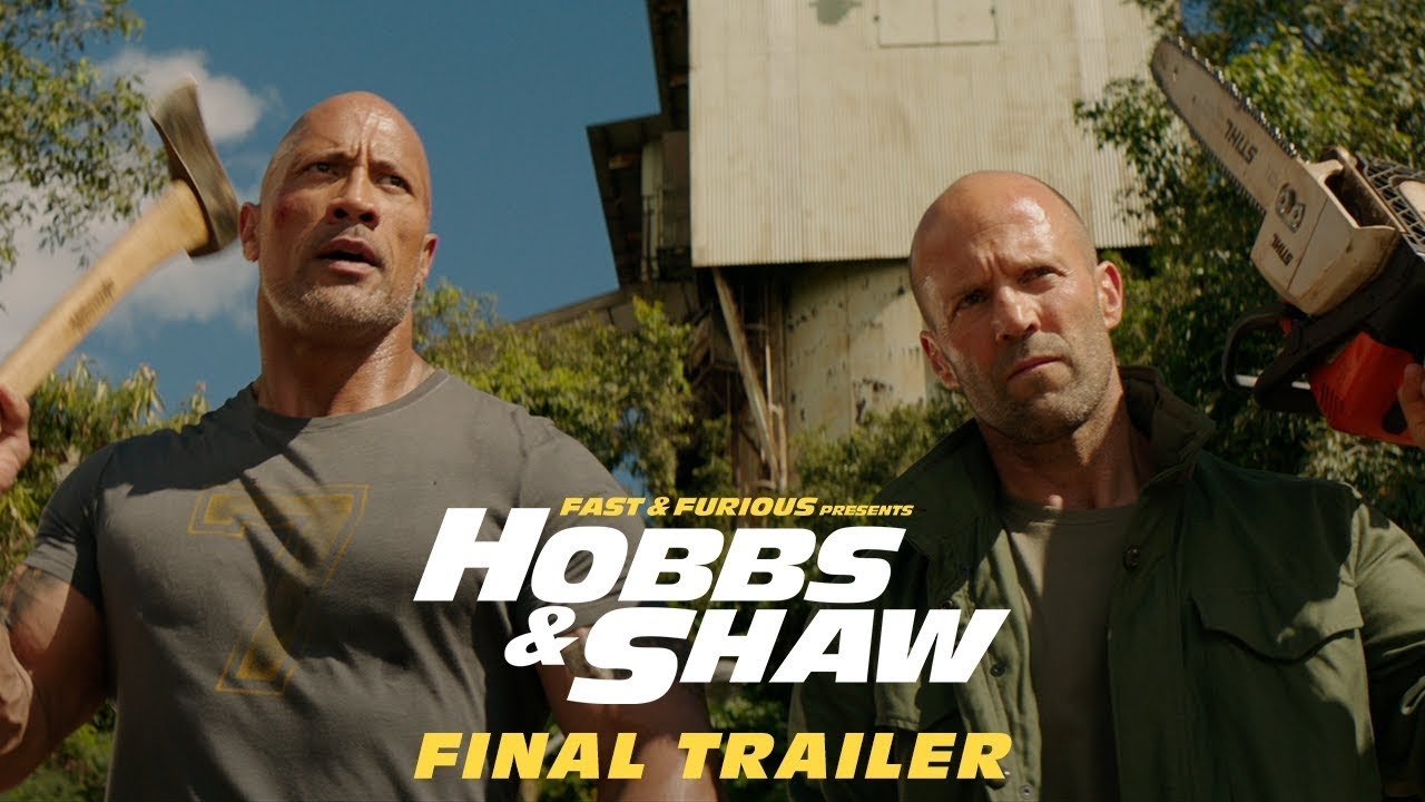 Fast & Furious Presents Hobbs & Shaw - Final Trailer