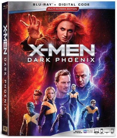 dark phoenix DVD