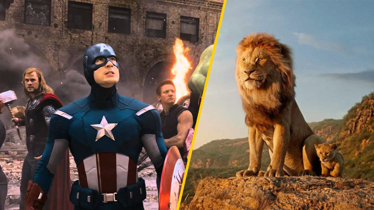 lion king beats avengers