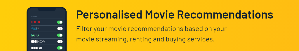 Personalised Movie Recommendations