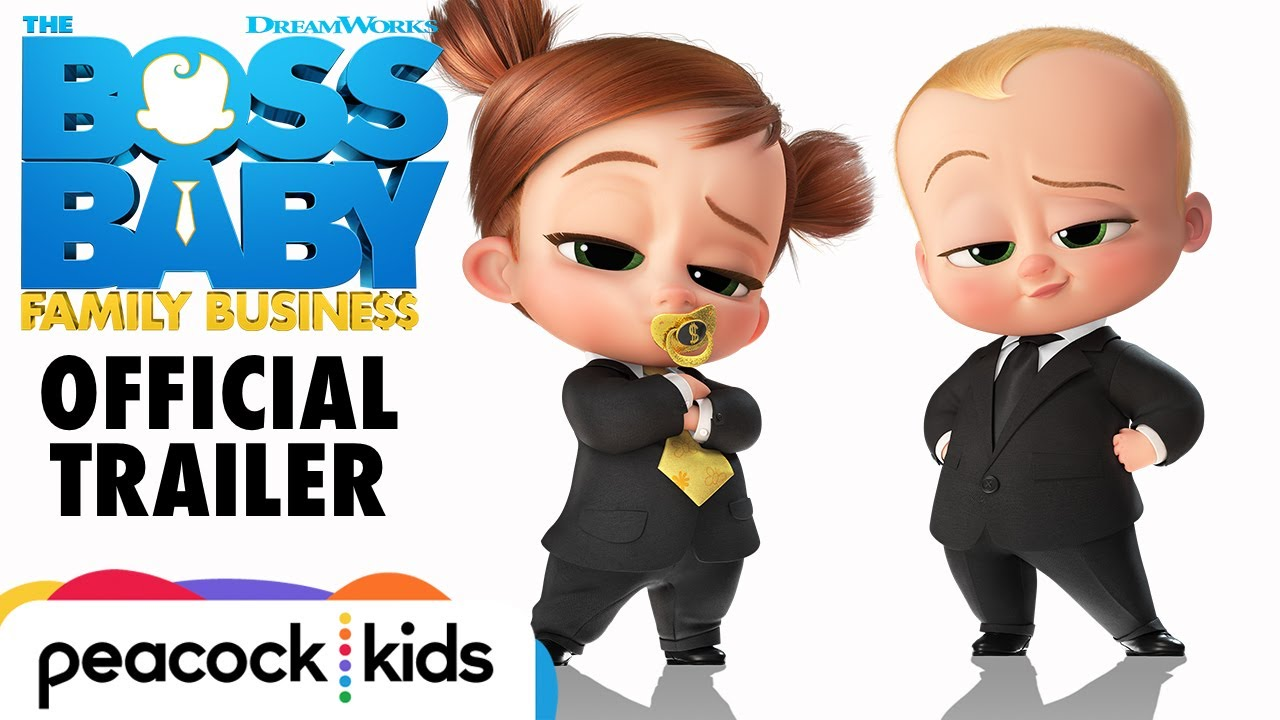 The Boss Baby 2 Family Business Trailer